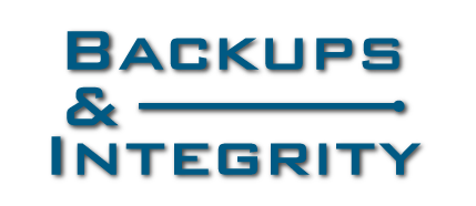 Backups and Integrity ProLogic Technology Services